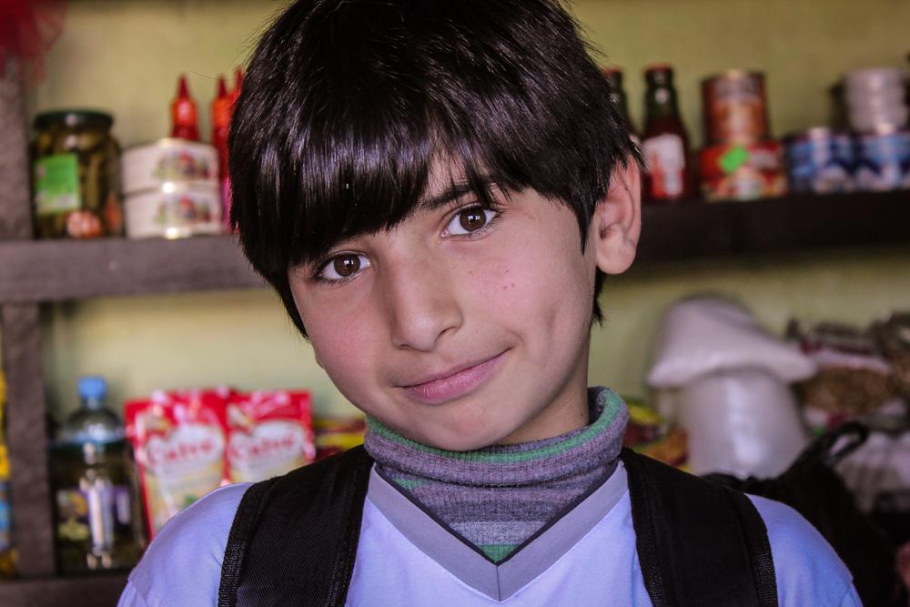 A boy I used to teach in Makho Village, Khelvachauri, Georgia