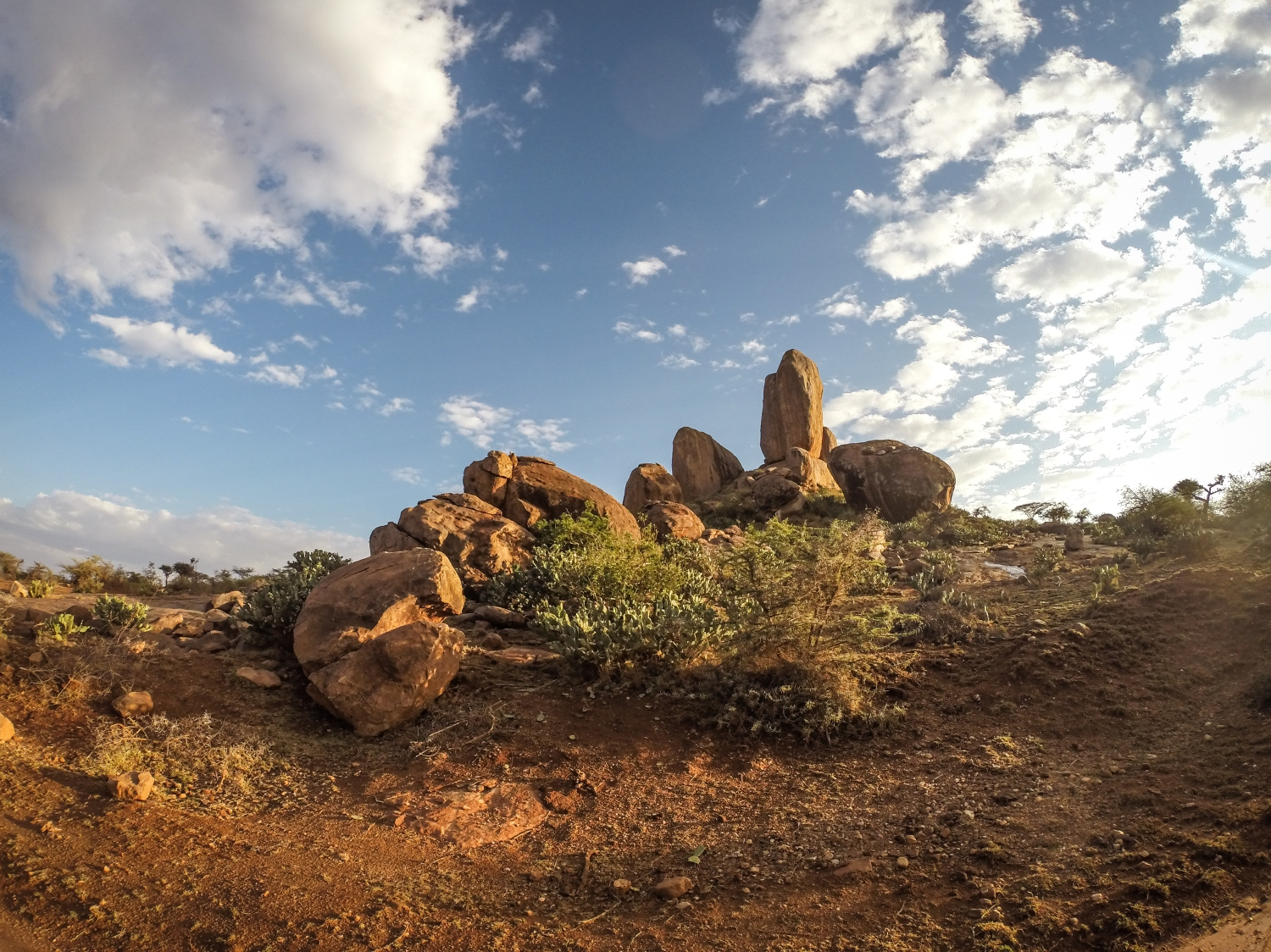 Massive landmark in Northern Laikipia, Kenya